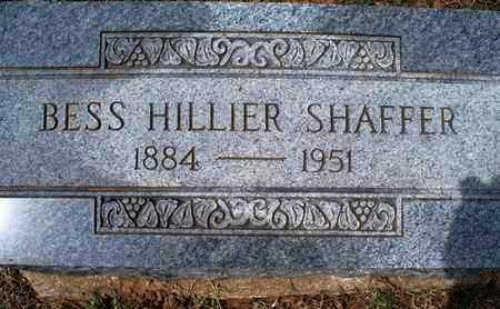 SHAFFER, BESS - Montgomery County, Kansas   BESS SHAFFER - Kansas Gravestone Photos