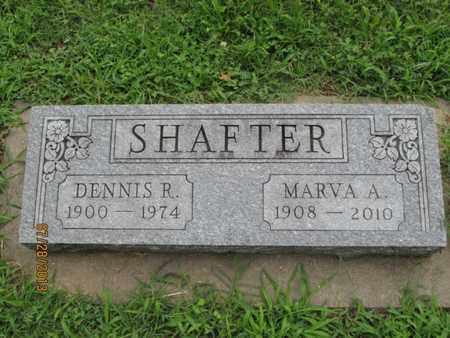 SHAFTER, DENNIS R - Montgomery County, Kansas | DENNIS R SHAFTER - Kansas Gravestone Photos