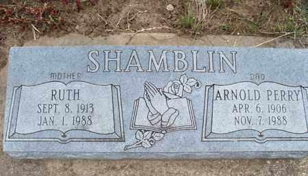 SHAMBLIN, RUTH - Montgomery County, Kansas | RUTH SHAMBLIN - Kansas Gravestone Photos