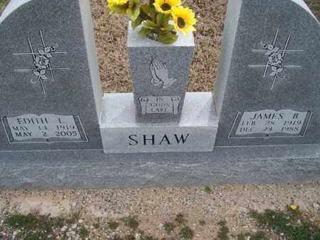 SHAW, EDITH L - Montgomery County, Kansas | EDITH L SHAW - Kansas Gravestone Photos
