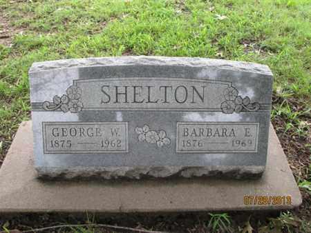 SHELTON, GEORGE W - Montgomery County, Kansas | GEORGE W SHELTON - Kansas Gravestone Photos