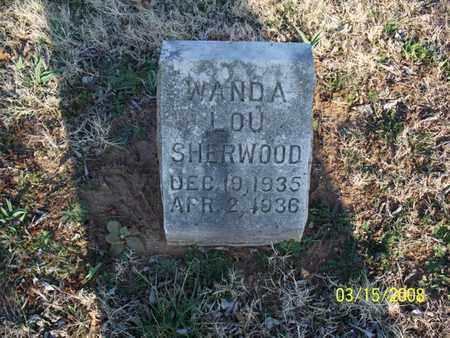 SHERWOOD, WANDA LOU - Montgomery County, Kansas   WANDA LOU SHERWOOD - Kansas Gravestone Photos