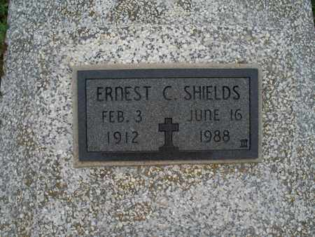 SHIELDS, ERNEST C - Montgomery County, Kansas | ERNEST C SHIELDS - Kansas Gravestone Photos