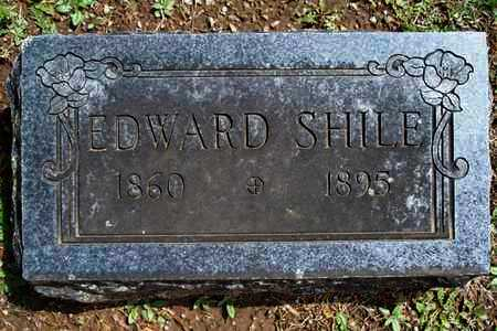 SHILE, EDWARD - Montgomery County, Kansas | EDWARD SHILE - Kansas Gravestone Photos