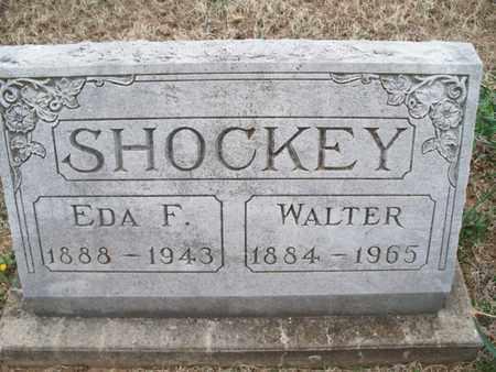 SHOCKEY, WALTER - Montgomery County, Kansas | WALTER SHOCKEY - Kansas Gravestone Photos