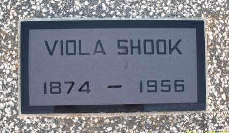 SHOOK, VIOLA - Montgomery County, Kansas   VIOLA SHOOK - Kansas Gravestone Photos