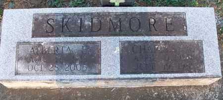 SKIDMORE, CHARLES - Montgomery County, Kansas   CHARLES SKIDMORE - Kansas Gravestone Photos