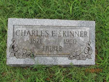 SKINNER, CHARLES E - Montgomery County, Kansas | CHARLES E SKINNER - Kansas Gravestone Photos