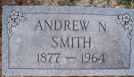 SMITH, ANDREW N - Montgomery County, Kansas | ANDREW N SMITH - Kansas Gravestone Photos