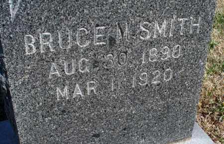 SMITH, BRUCE M - Montgomery County, Kansas   BRUCE M SMITH - Kansas Gravestone Photos