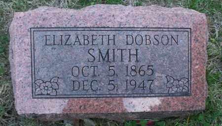 SMITH, ELIZABETH - Montgomery County, Kansas   ELIZABETH SMITH - Kansas Gravestone Photos