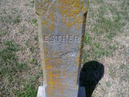 SMITH, ESTHER - Montgomery County, Kansas | ESTHER SMITH - Kansas Gravestone Photos