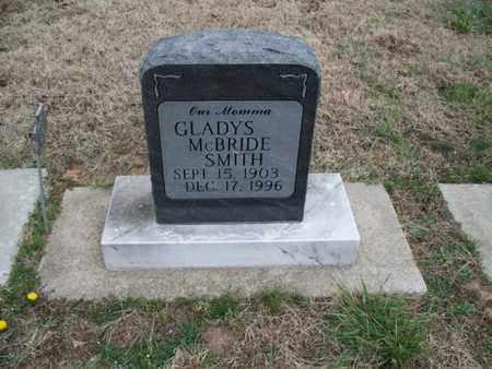 MCBRIDE SMITH, GLADYS - Montgomery County, Kansas | GLADYS MCBRIDE SMITH - Kansas Gravestone Photos