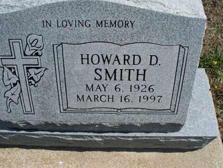SMITH, HOWARD D - Montgomery County, Kansas | HOWARD D SMITH - Kansas Gravestone Photos