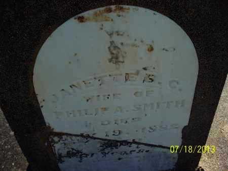 SMITH, JANETTE S  C - Montgomery County, Kansas | JANETTE S  C SMITH - Kansas Gravestone Photos