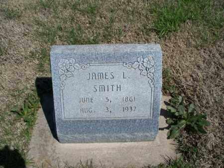 SMITH, JAMES L - Montgomery County, Kansas | JAMES L SMITH - Kansas Gravestone Photos