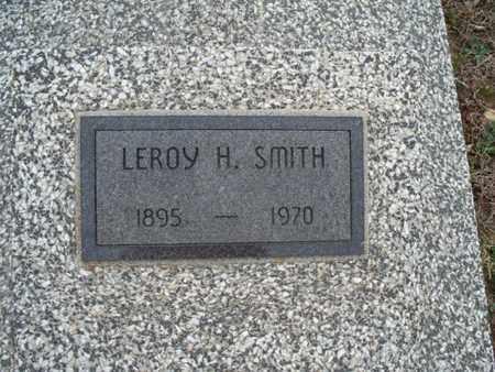 SMITH, LEROY H - Montgomery County, Kansas | LEROY H SMITH - Kansas Gravestone Photos