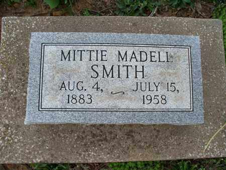 SMITH, MITTIE MADELL - Montgomery County, Kansas | MITTIE MADELL SMITH - Kansas Gravestone Photos