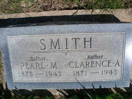 SMITH, CLARENCE A - Montgomery County, Kansas | CLARENCE A SMITH - Kansas Gravestone Photos