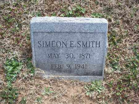 SMITH, SIMEON E - Montgomery County, Kansas | SIMEON E SMITH - Kansas Gravestone Photos