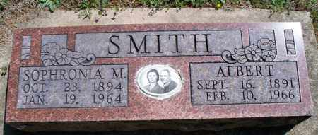 SMITH, SOPHRONIA M - Montgomery County, Kansas | SOPHRONIA M SMITH - Kansas Gravestone Photos