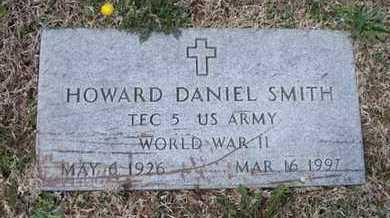SMITH, HOWARD DANIEL  (VETERAN WWII) - Montgomery County, Kansas | HOWARD DANIEL  (VETERAN WWII) SMITH - Kansas Gravestone Photos