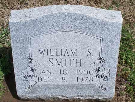 SMITH, WILLIAM S - Montgomery County, Kansas   WILLIAM S SMITH - Kansas Gravestone Photos