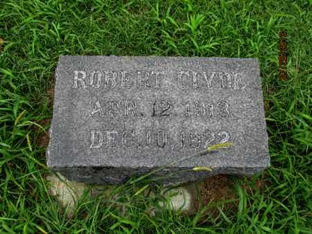 STEELE, ROBERT CLYDE - Montgomery County, Kansas | ROBERT CLYDE STEELE - Kansas Gravestone Photos
