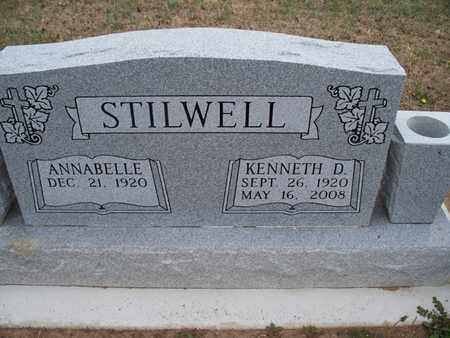 GEER STILWELL, ANNABELLE - Montgomery County, Kansas | ANNABELLE GEER STILWELL - Kansas Gravestone Photos