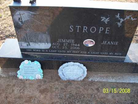 STROPE, JIMMIE - Montgomery County, Kansas   JIMMIE STROPE - Kansas Gravestone Photos
