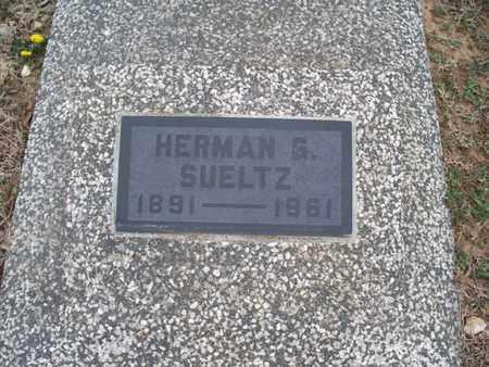 SUELTZ, HERMAN G - Montgomery County, Kansas | HERMAN G SUELTZ - Kansas Gravestone Photos