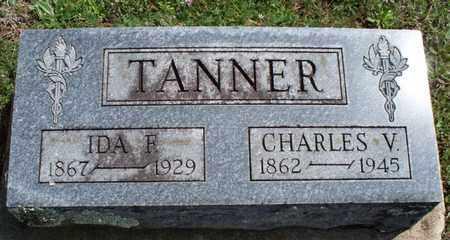 TANNER, IDA F - Montgomery County, Kansas | IDA F TANNER - Kansas Gravestone Photos