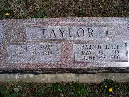 SWAN TAYLOR    , VIRGINIA - Montgomery County, Kansas | VIRGINIA SWAN TAYLOR     - Kansas Gravestone Photos