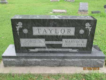 TAYLOR, MARVIN ESTEL - Montgomery County, Kansas | MARVIN ESTEL TAYLOR - Kansas Gravestone Photos