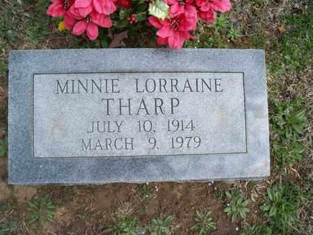 THARP, MINNIE LORRAINE - Montgomery County, Kansas | MINNIE LORRAINE THARP - Kansas Gravestone Photos