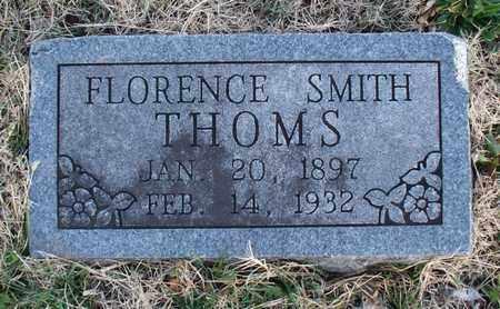 THOMS, FLORENCE - Montgomery County, Kansas   FLORENCE THOMS - Kansas Gravestone Photos