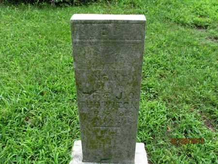 THORNTON, INFANT DAUGHTER - Montgomery County, Kansas | INFANT DAUGHTER THORNTON - Kansas Gravestone Photos