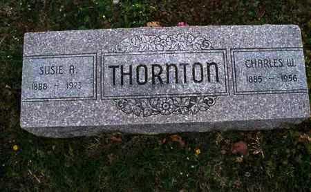 THORNTON, CHARLES W - Montgomery County, Kansas   CHARLES W THORNTON - Kansas Gravestone Photos