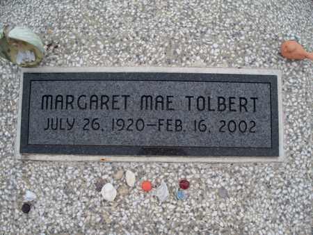 TOLBERT, MARGARET MAE - Montgomery County, Kansas | MARGARET MAE TOLBERT - Kansas Gravestone Photos