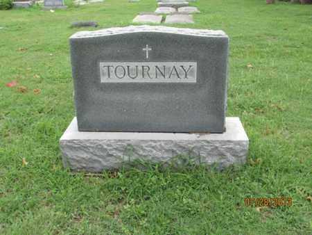TOURNAY, FAMILY STONE - Montgomery County, Kansas   FAMILY STONE TOURNAY - Kansas Gravestone Photos