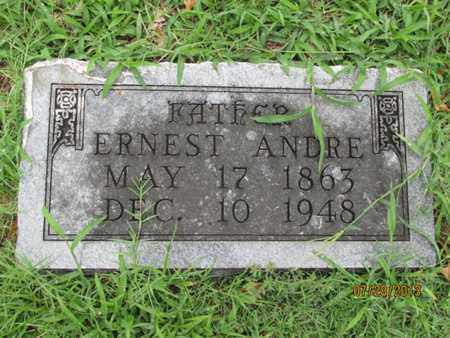 TOURNAY, ERNEST ANDRE - Montgomery County, Kansas | ERNEST ANDRE TOURNAY - Kansas Gravestone Photos