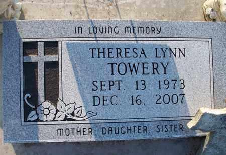 TOWERY, THERESA LYNN - Montgomery County, Kansas | THERESA LYNN TOWERY - Kansas Gravestone Photos