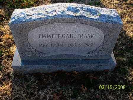 TRASK, EMMITT GAIL - Montgomery County, Kansas | EMMITT GAIL TRASK - Kansas Gravestone Photos
