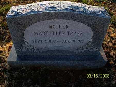 TRASK, MARY ELLEN - Montgomery County, Kansas | MARY ELLEN TRASK - Kansas Gravestone Photos