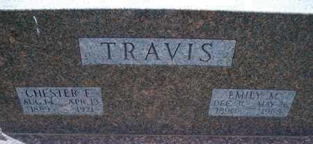 TRAVIS, CHESTER F - Montgomery County, Kansas | CHESTER F TRAVIS - Kansas Gravestone Photos