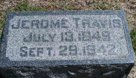 TRAVIS, JEROME - Montgomery County, Kansas | JEROME TRAVIS - Kansas Gravestone Photos