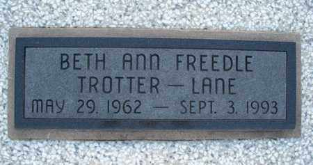 LANE, BETH ANN - Montgomery County, Kansas | BETH ANN LANE - Kansas Gravestone Photos