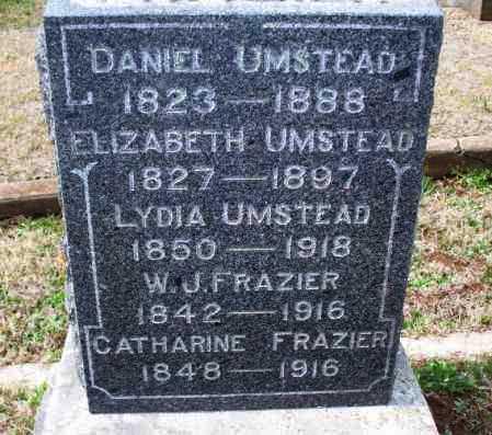 UMSTEAD, CATHARINE - Montgomery County, Kansas | CATHARINE UMSTEAD - Kansas Gravestone Photos