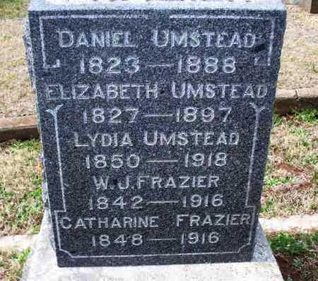 FRAZIER, W  J - Montgomery County, Kansas | W  J FRAZIER - Kansas Gravestone Photos
