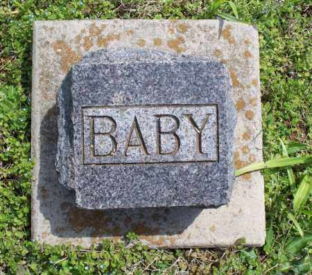 UNKNOWN, BABY - Montgomery County, Kansas | BABY UNKNOWN - Kansas Gravestone Photos